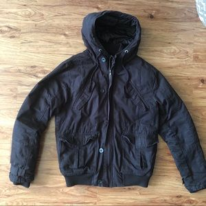Men's H&M black winter jacket